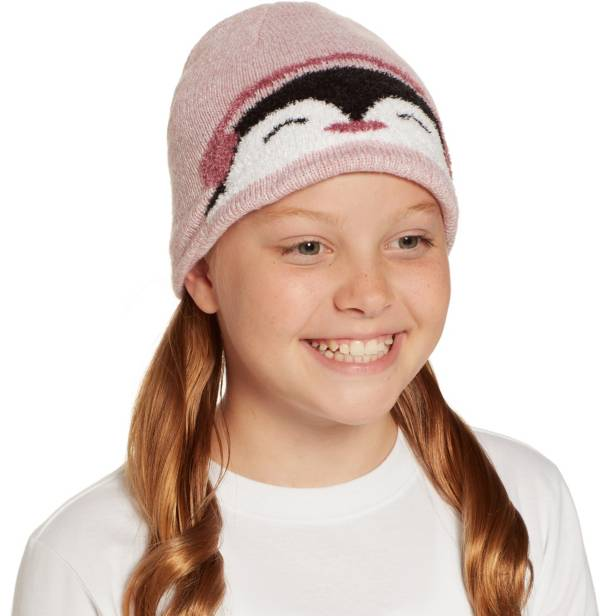 Field & Stream Girls' Cabin Penguin Beanie product image