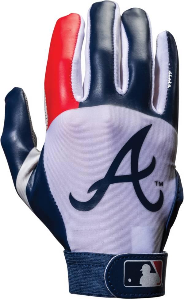 Franklin Atlanta Braves Youth Batting Gloves product image