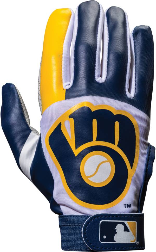 Franklin Milwaukee Brewers Youth Batting Gloves product image