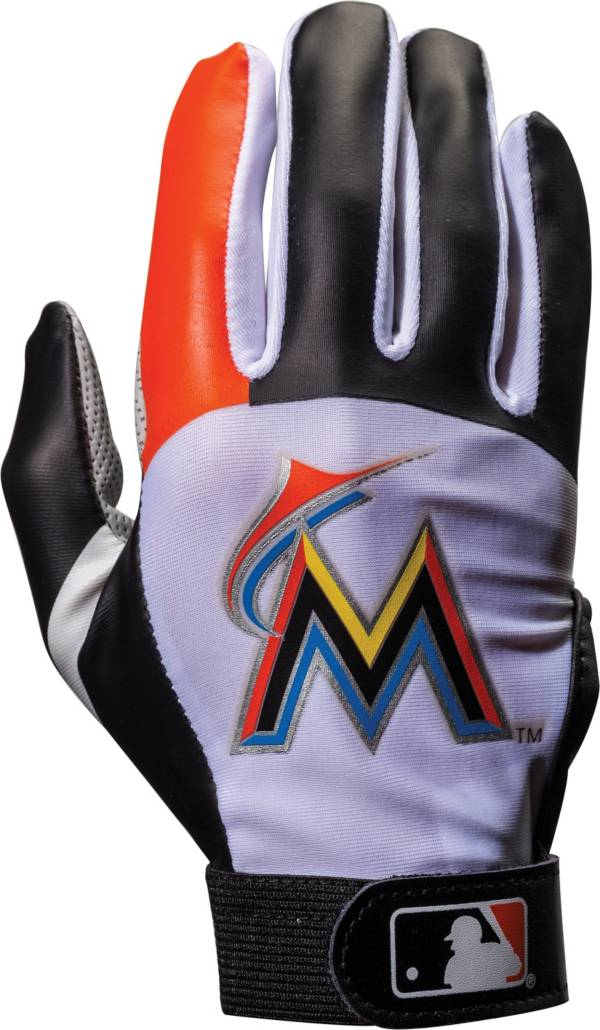 Franklin Miami Marlins Youth Batting Gloves product image