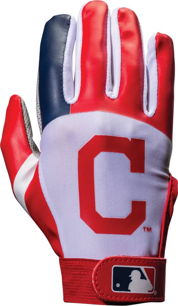 Franklin Cleveland Indians Youth Batting Gloves product image
