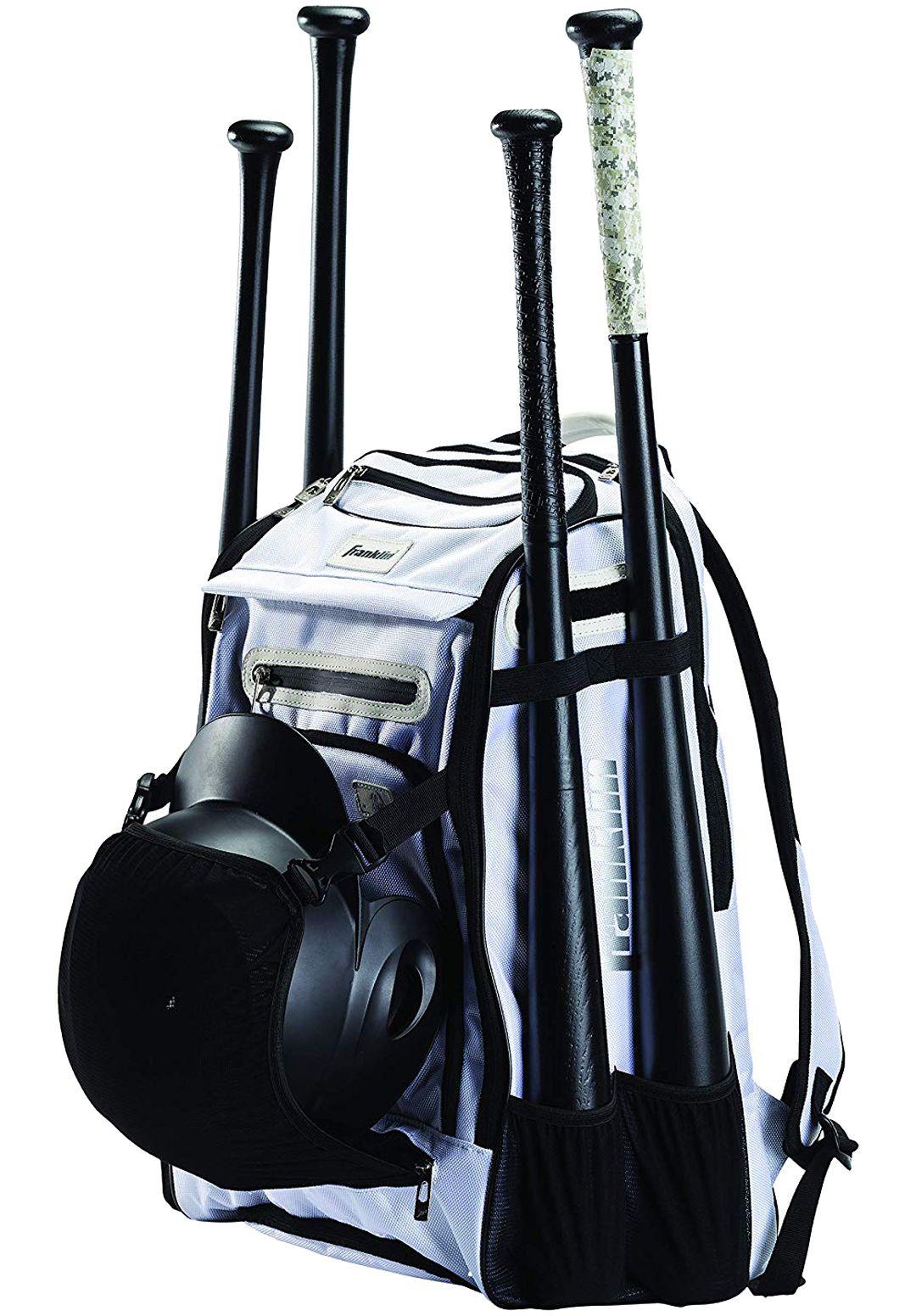 b86b244a9dbf Franklin MLB Traveler Elite Chrome Bat Pack