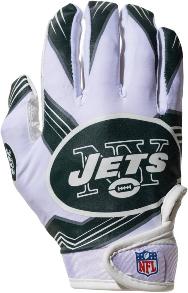 Franklin New York Jets Youth Receiver Gloves product image