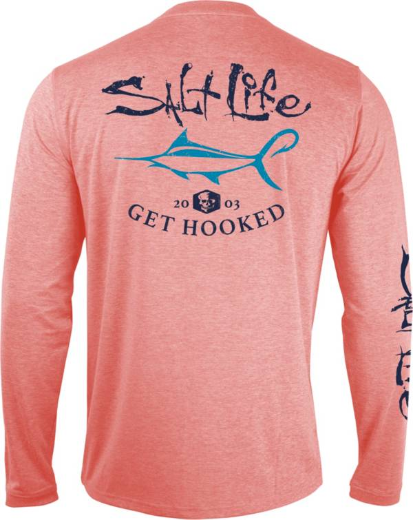 Salt Life Men's Get Hooked Performance Long Sleeve Shirt product image