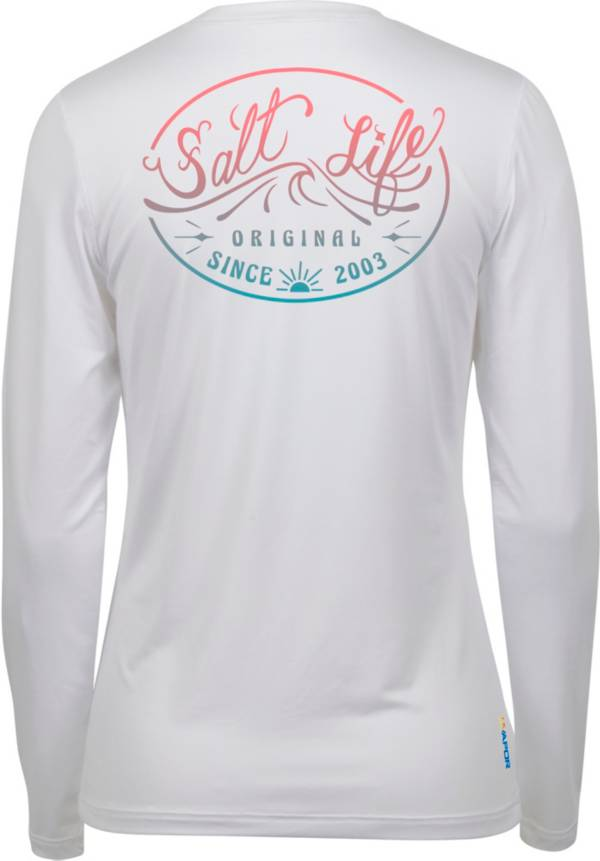 Salt Life Women's Original Wave Long Sleeve Performance Shirt product image