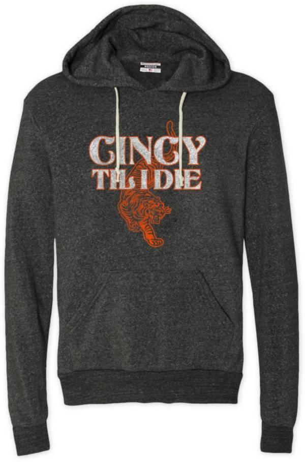 Where I'm From Men's Cincy Til I Die Black Pullover Sweatshirt product image