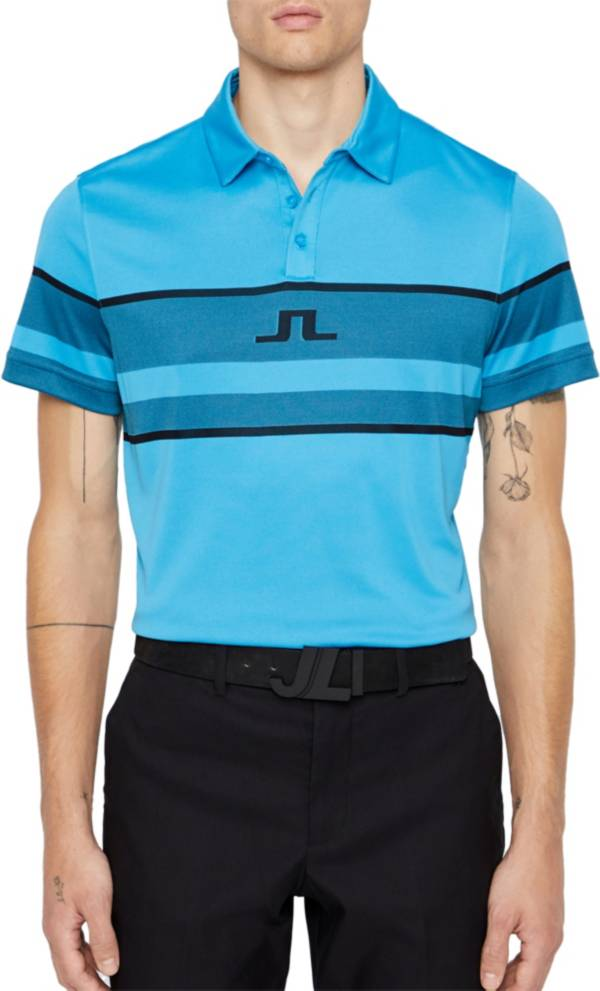 J.Lindeberg Men's Cole Slim Jacquard Golf Polo product image