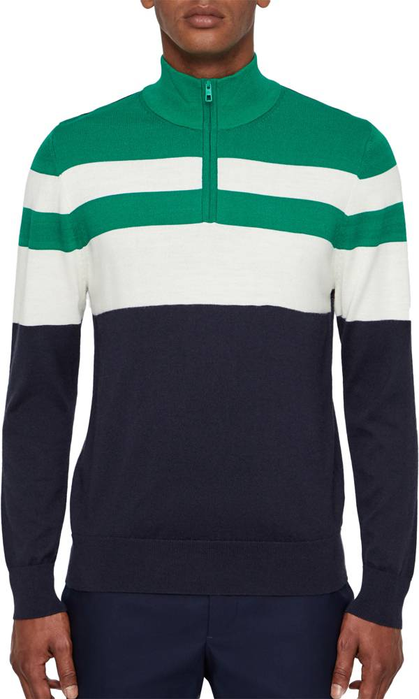 J.Lindeberg Men's Henry Coolmax ¼ Zip Golf Pullover product image