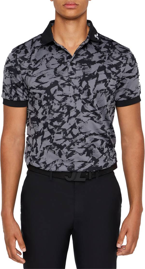 J.Lindeberg Men's Tour Tech Jacquard Golf Polo product image
