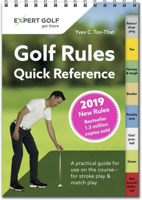 Golf Rules Quick Reference Guide – 2019 Edition product image