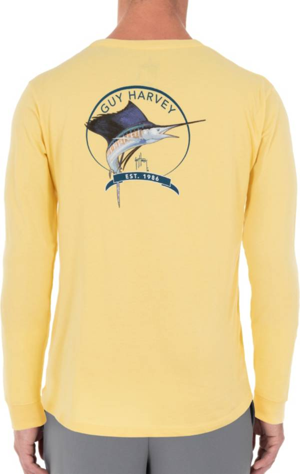 Guy Harvey Men's Core Sailfish Long Sleeve Shirt product image