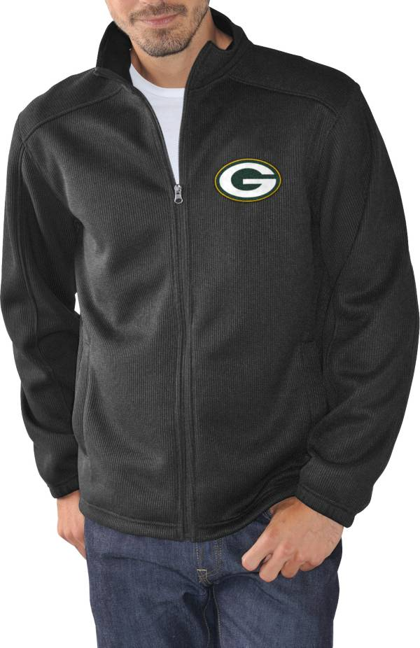 G-III Men's Green Bay Packers Audible Black Full-Zip Jacket product image