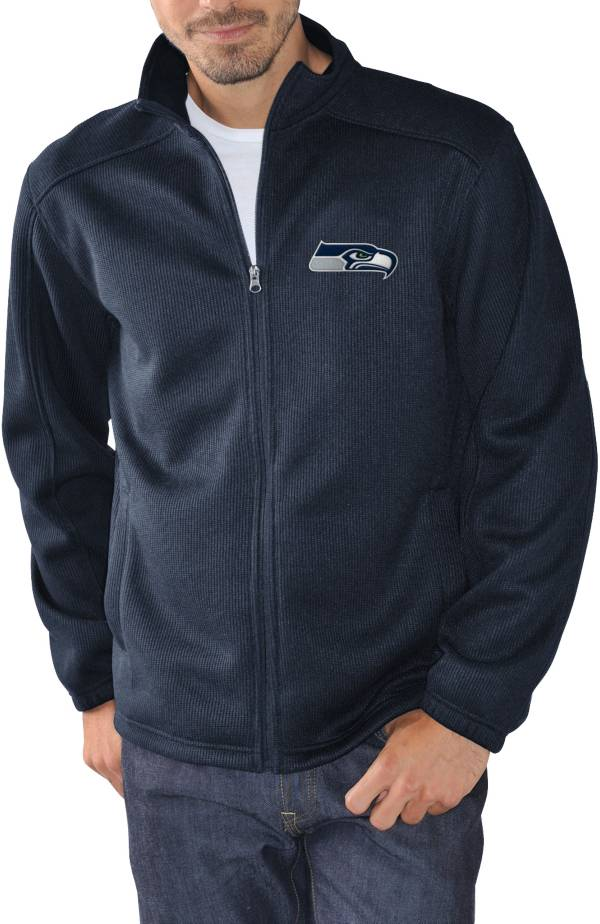 G-III Men's Seattle Seahawks Audible Navy Full-Zip Jacket product image