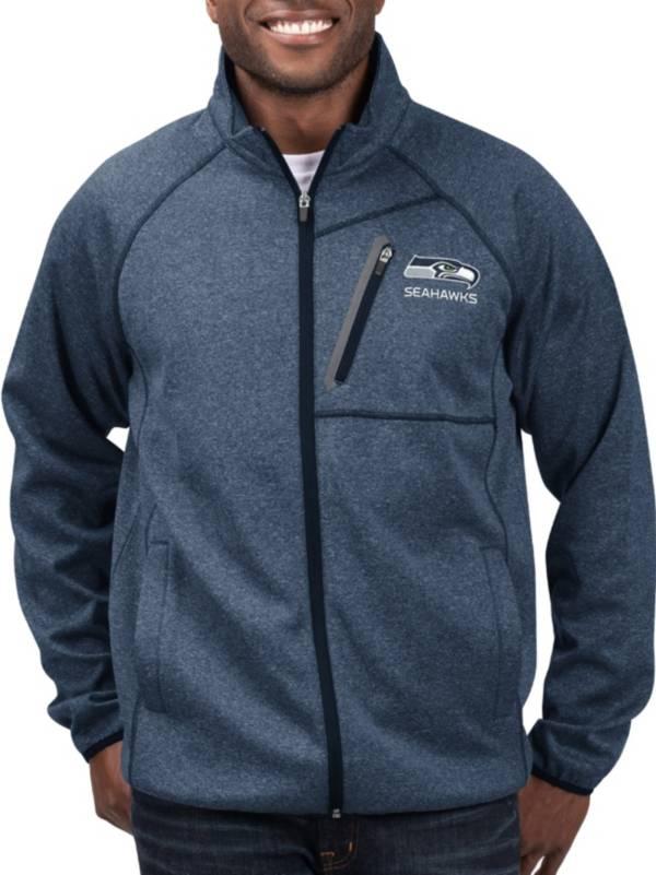 G-III Men's Seattle Seahawks Switchback Full-Zip Navy Jacket product image