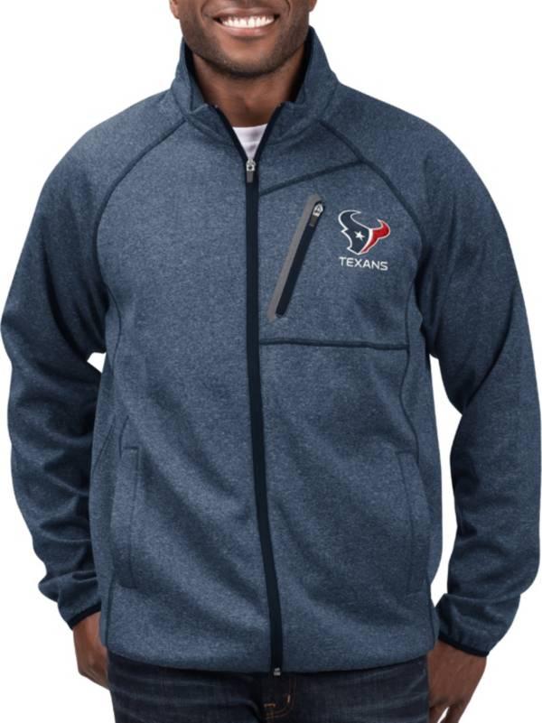 G-III Men's Houston Texans Switchback Full-Zip Navy Jacket product image