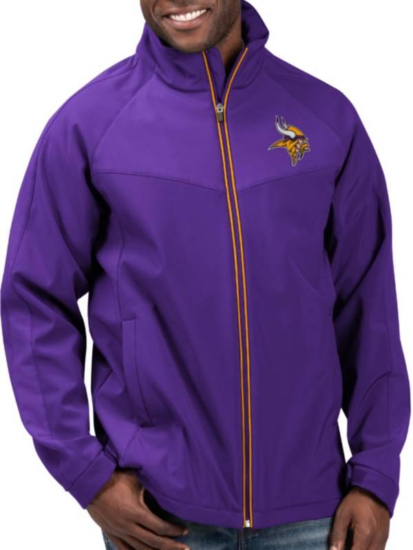 G-III Men's Minnesota Vikings Warning Track Full-Zip Purple Jacket product image