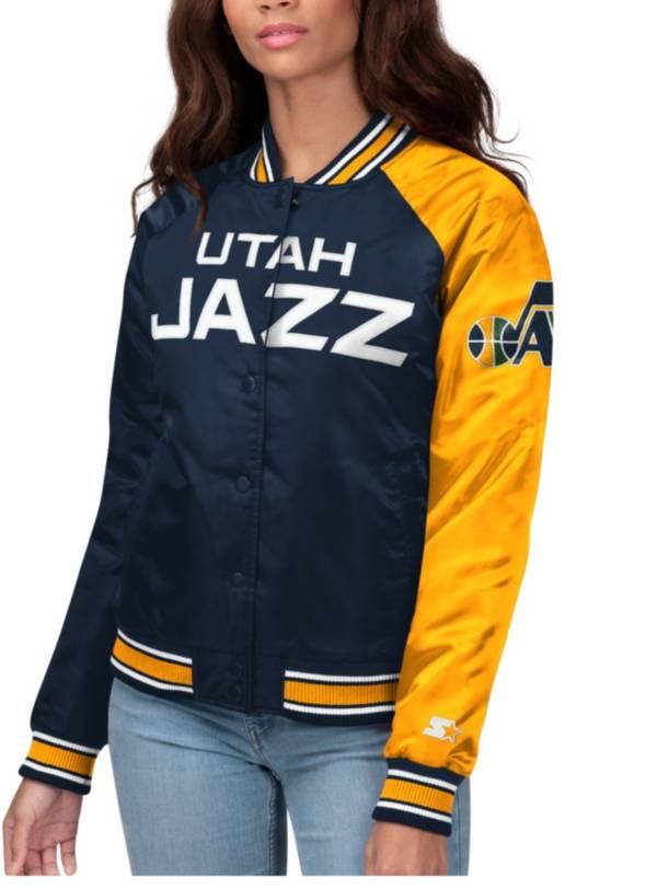 Starter Women's Utah Jazz Varsity Jacket product image