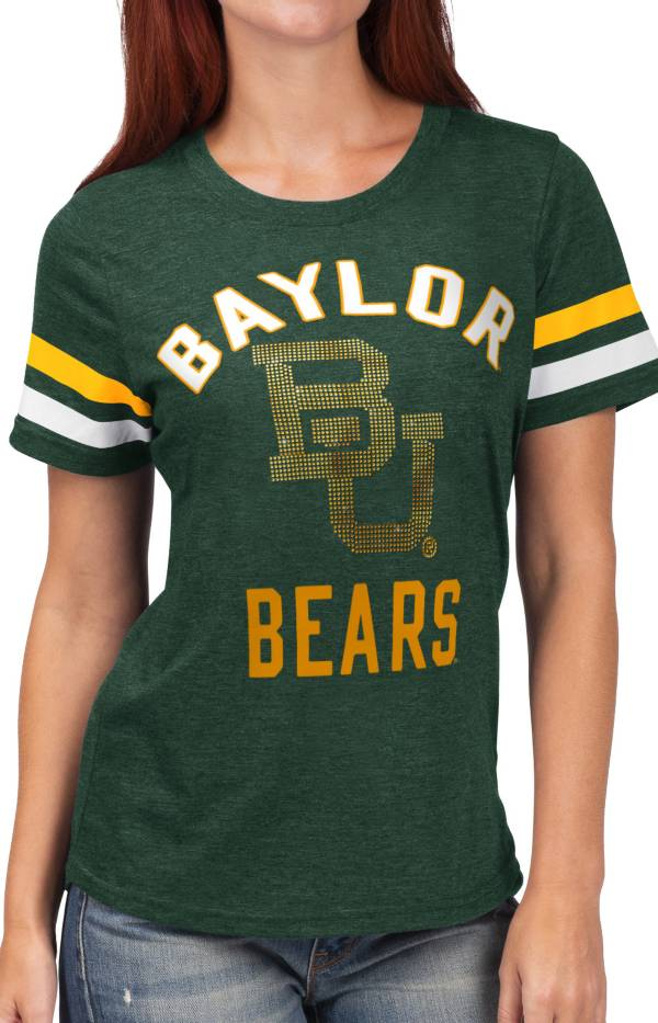 G-III For Her Women's Baylor Bears Green Extra Point T-Shirt product image