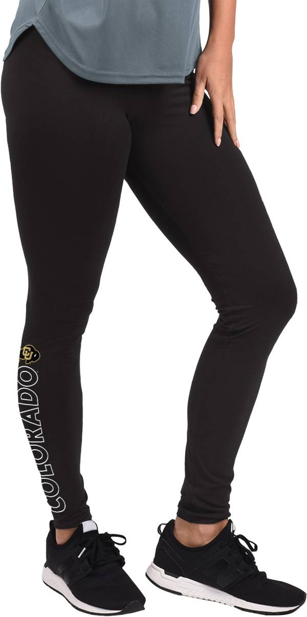G-III For Her Women's Colorado Buffaloes MVP Black Leggings product image
