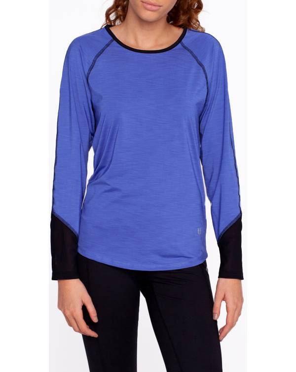 EleVen Women's Sunny Back Long Sleeve Tennis Shirt product image