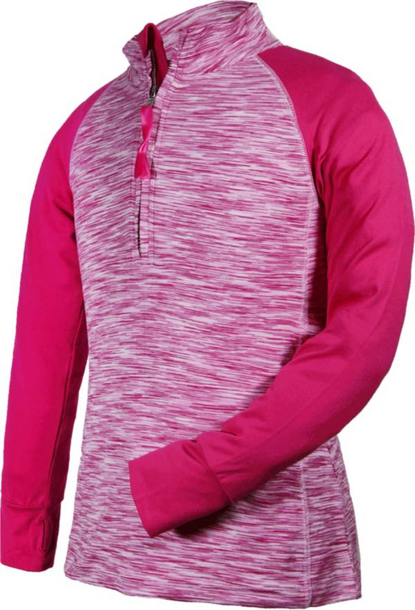 Garb Girls' Dana ½ Zip Long Sleeve Golf Pullover product image