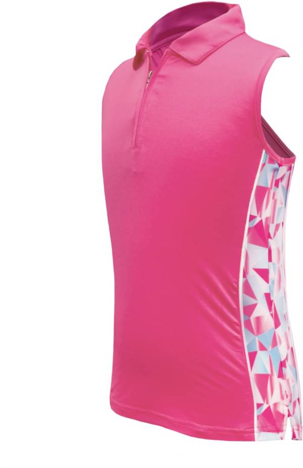 Garb Girls' Kaya ¼ Zip Sleeveless Golf Polo product image