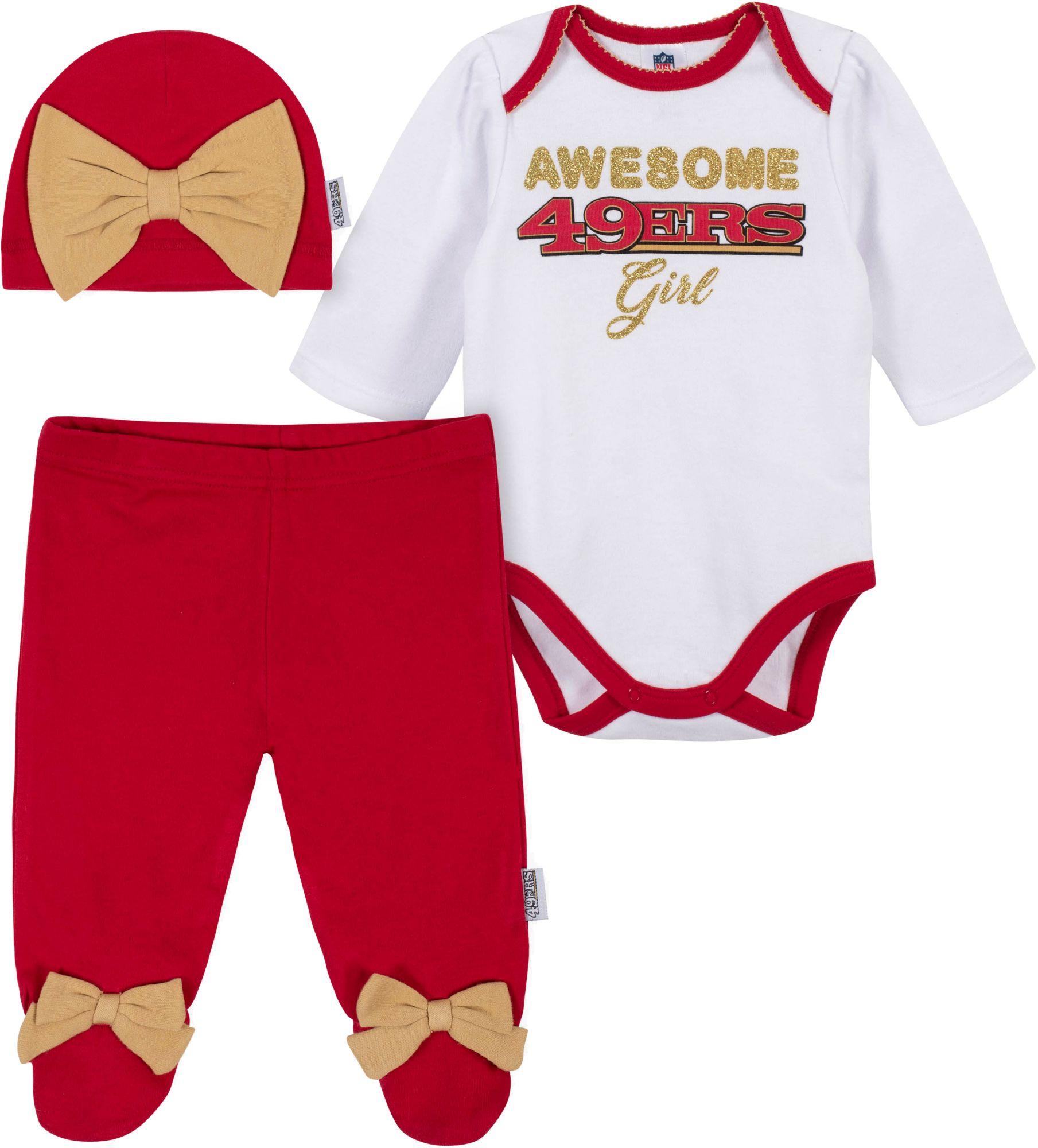 49ers onesie jersey