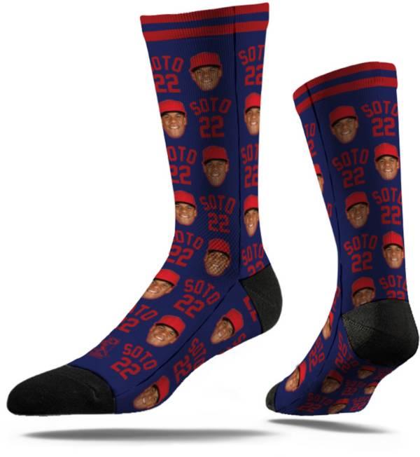 Strideline Washington Nationals Juan Soto Big Face Crew Socks product image