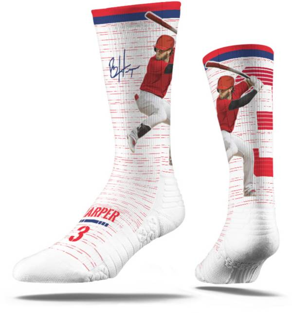 Strideline Philadelphia Phillies Bryce Harper White Socks product image