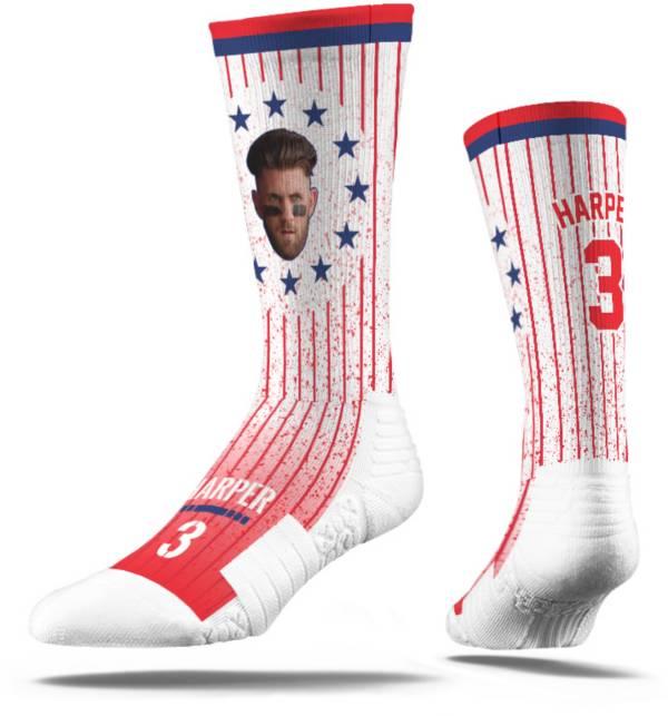 Strideline Philadelphia Phillies Bryce Harper Stars & Stripes Socks product image