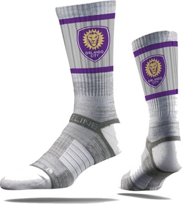 Strideline Orlando City Gray Crew Socks product image