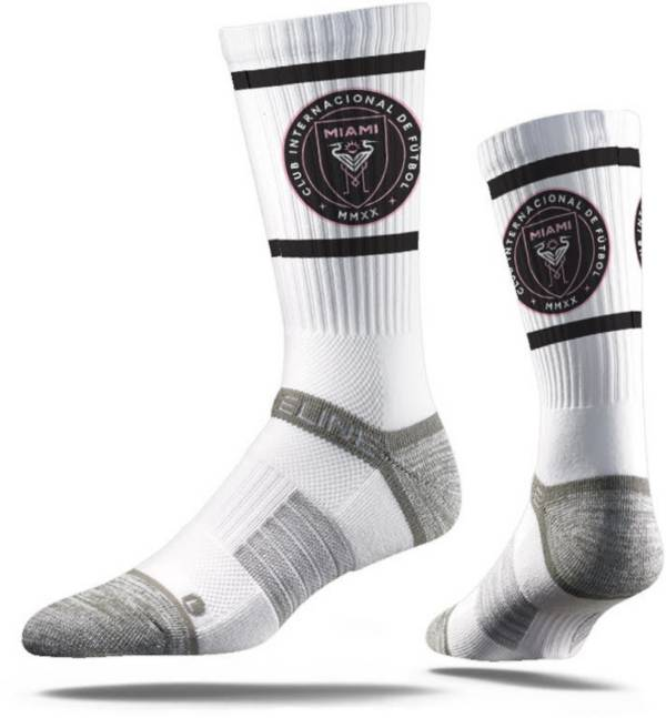 Strideline Inter Miami CF White Crew Socks product image