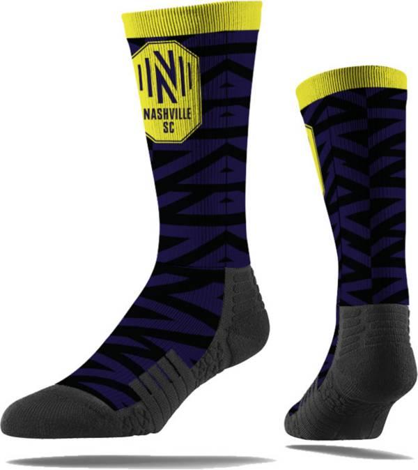 Strideline Nashville Soccer Club Black Comfy Socks product image