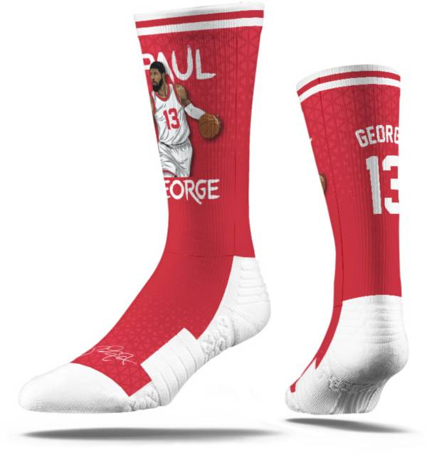 Strideline Los Angeles Clippers Paul George Red Crew Socks product image