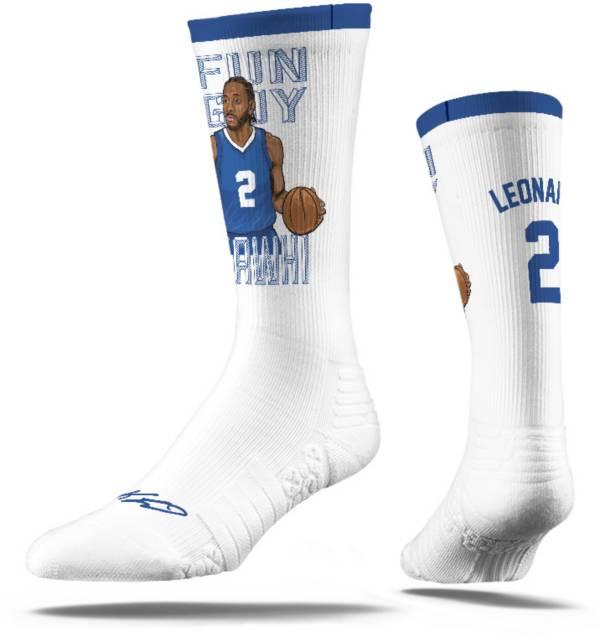 Strideline Los Angeles Clippers Kawhi Leonard White Crew Socks product image