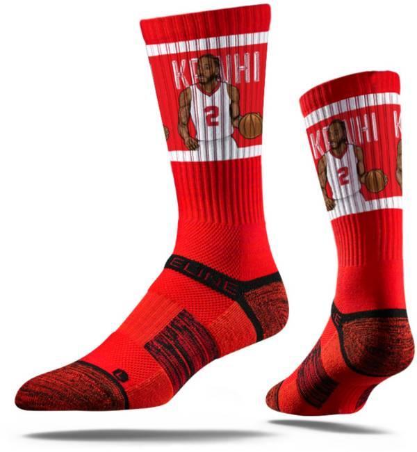 Strideline Los Angeles Clippers Kawhi Leonard Red Crew Socks product image