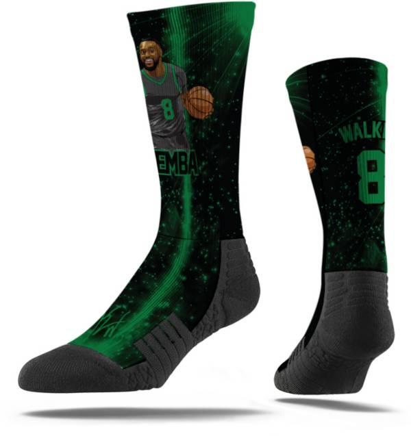 Strideline Boston Celtics Kemba Walker Comfy Black Crew Socks product image