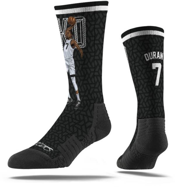 Strideline Brooklyn Nets Kevin Durant Dunk Black Crew Socks product image
