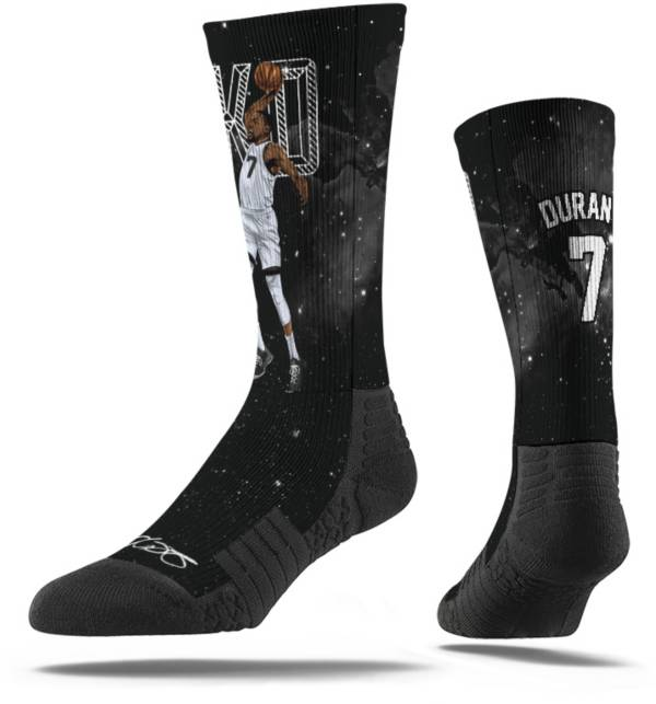 Strideline Brooklyn Nets Kevin Durant Galaxy Black Crew Socks product image