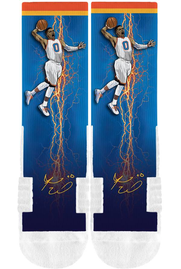 Strideline Oklahoma City Thunder Russell Westbrook Crew Socks product image