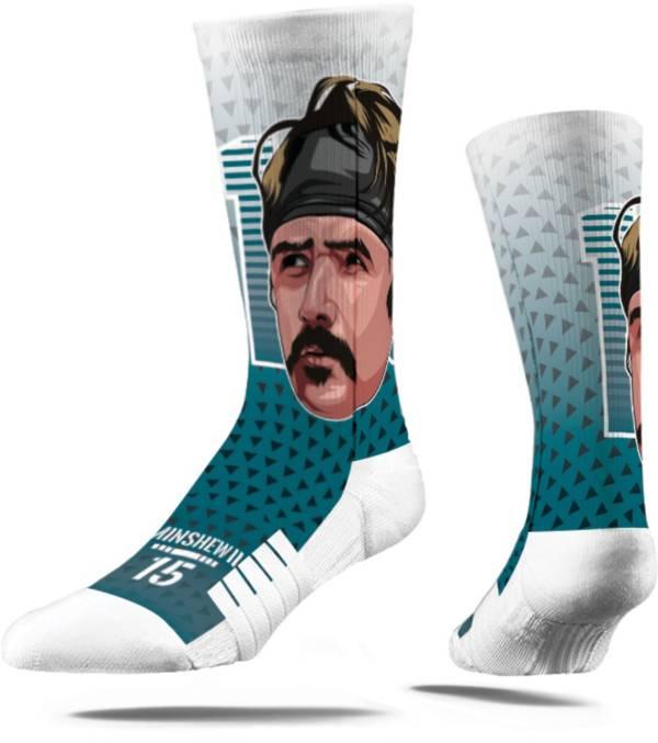 Strideline Jacksonville Jaguars Gardner Minshew Big Face Crew Socks product image