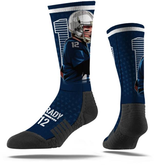 Strideline New England Patriots Tom Brady Crew Socks product image