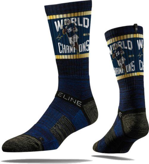 Strideline Super Bowl LIII Champions New England Patriots Sony Michel Socks 0f29f1499