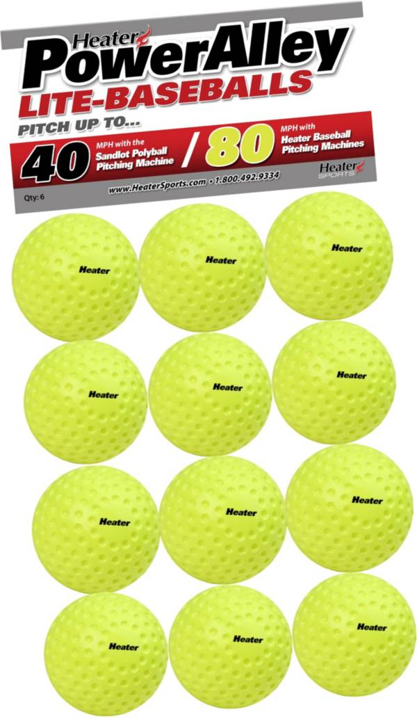 Heater PowerAlley 80 MPH Lite-Balls - 12 Pack product image