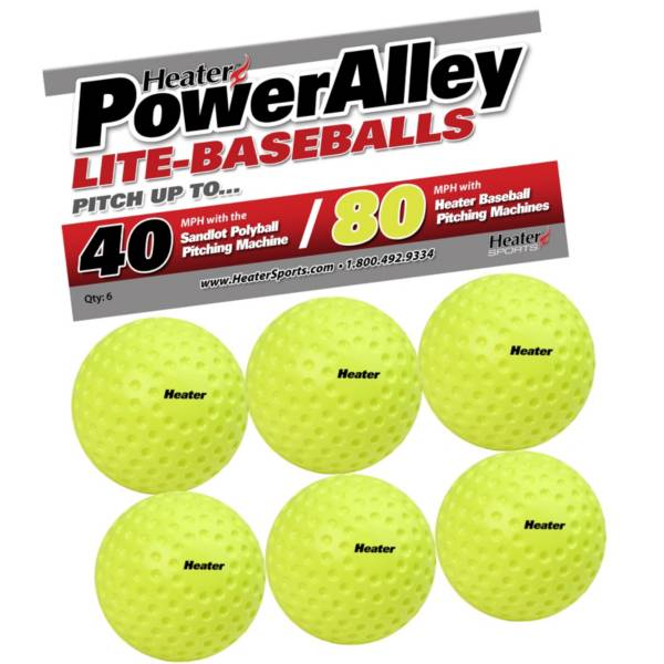 Heater PowerAlley 80 MPH Lite-Balls - 6 Pack product image