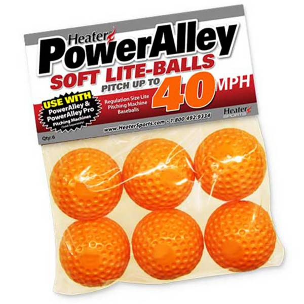 Heater PowerAlley 40 MPH Soft Lite-Balls - 12 Pack product image