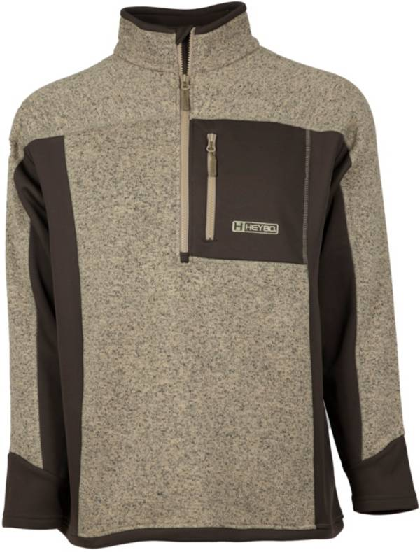 HEYBO Men's Cabin ¼ Zip Fleece Pullover product image