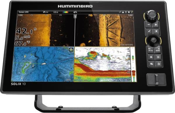 Humminbird Solix 10 CHIRP MEGA SI GPS Fish Finder (410490-1) product image