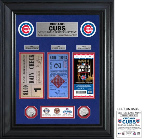 Highland Mint Chicago Cubs Ticket Collection product image