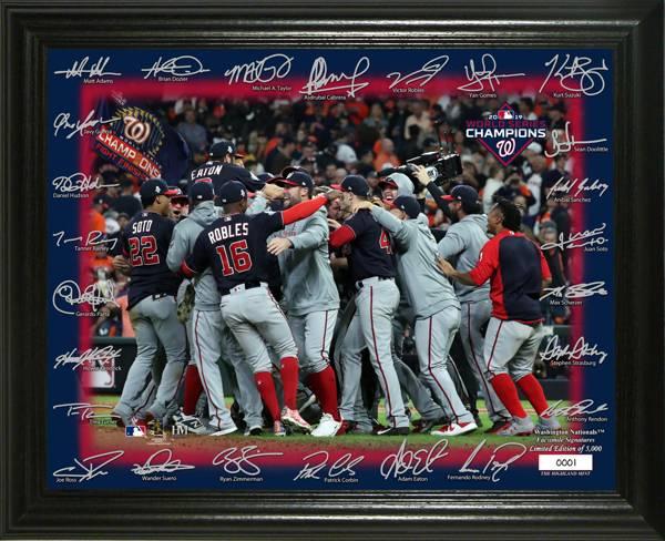 Highland Mint Washington Nationals Signature Field Celebration Photo Frame product image
